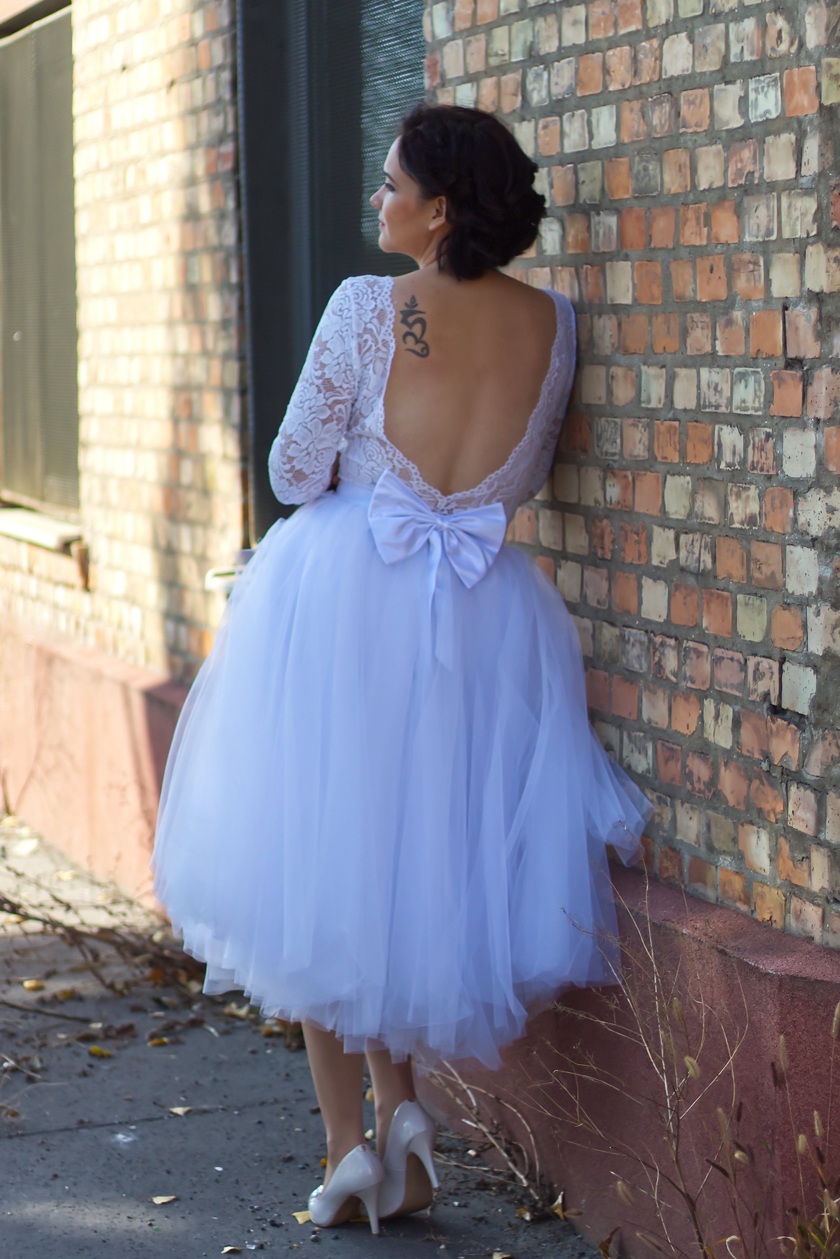 Egyedi tervezésű menyasszonyi ruha